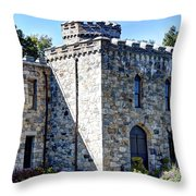 Winnekenni Castle Front View Throw Pillow