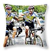 Winners First Throw Pillow