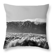 Winning Wave Throw Pillow