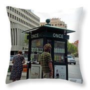 Winning The Lottery And Retirement Throw Pillow