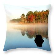 Winnsboro Reservoir-1 Throw Pillow