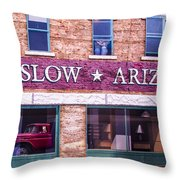 Winslow Arizona 2 Throw Pillow