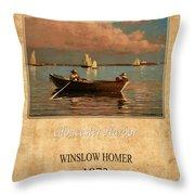 Winslow Homer 1 Throw Pillow