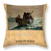 Winslow Homer 2 Throw Pillow