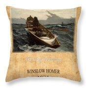 Winslow Homer 4 Throw Pillow