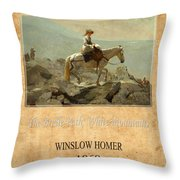 Winslow Homer 5 Throw Pillow