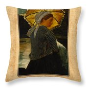 Winslow Homer 6 Throw Pillow