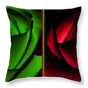 Winsome Roses Pair Throw Pillow