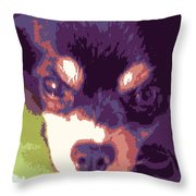 Winsome Wedgie Throw Pillow