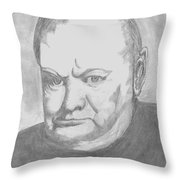 Winston Throw Pillow by Irving Starr