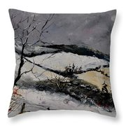 Winter 4531 Throw Pillow