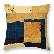 Winter And Fall Throw Pillow by Carol Leigh