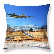 Winter Belle Throw Pillow