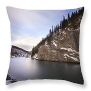 Winter Calm Throw Pillow
