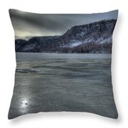 Winter Calm Throw Pillow