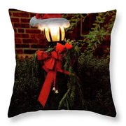 Winter - Christmas - It's Going To Be A Cold Night Throw Pillow by Mike Savad