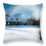Winter Day Three Throw Pillow
