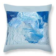 Winter Throw Pillow by Denise Mazzocco