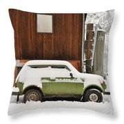 Under Snow Throw Pillow