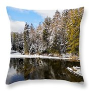 Winter Impressions ... Throw Pillow