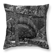 Winter In Maine Throw Pillow