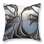 Winter In My Heart Throw Pillow by Patrick J Murphy