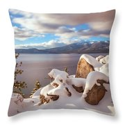 Winter In Tahoe Throw Pillow