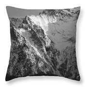winter in the Bavarian alps 4 Throw Pillow