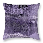 Winter Is Approaching Throw Pillow