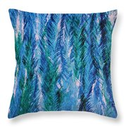 Winter Of My Son Throw Pillow