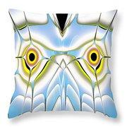 Winter Owl Throw Pillow