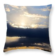 Winter Skyscape Throw Pillow