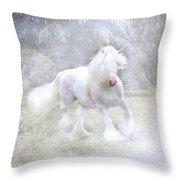 Winter Spirit Throw Pillow