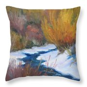 Winter Tapestry Throw Pillow