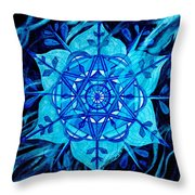 Winter Throw Pillow by Teal Eye  Print Store