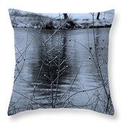 Winter Touch Throw Pillow