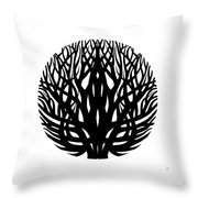 Unity - Winter Tree Throw Pillow