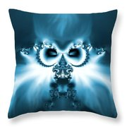 Winter Wizardry Throw Pillow