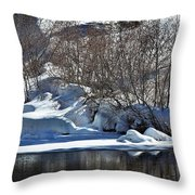 Winter Wonderland Throw Pillow
