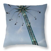 Winter Wonderland Star Flyer Throw Pillow