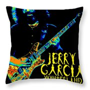 Winterland 1977 Throw Pillow