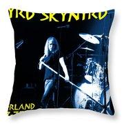 Winterland 4-27-75 Throw Pillow