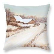 Winterness Throw Pillow by Michelle Wiarda