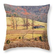 Winter's Coming Throw Pillow