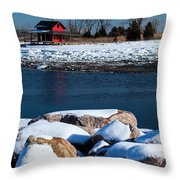 Winters Cove Throw Pillow