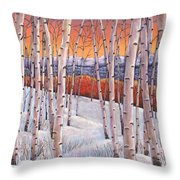 Winter's Dream Throw Pillow