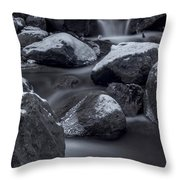 Winters Flow 2 Throw Pillow