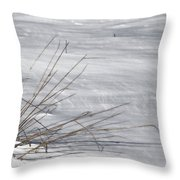 Winters Grasp Throw Pillow