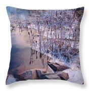 Winters Magic Throw Pillow