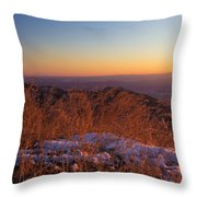 Winter's Splendor Throw Pillow by Heidi Smith